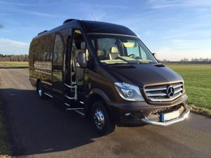 Minibus Hire with Driver for Your Travels around Europe